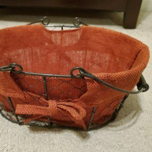 Lined Basket